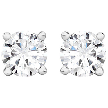 Round Brilliant 0.25ctw 18KT White Gold Diamond Studs