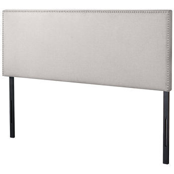 Blackstone Upholstered Nail Trim Headboard Double