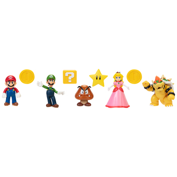 Deluxe Bowser Castle Playset with 4 extra figures