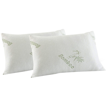 Royal Comfort Bamboo & Memory Foam Pillow 2pk