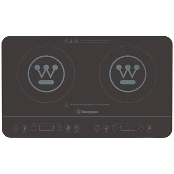 Westinghouse Twin Induction Cooktop WHIC02K