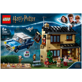 LEGO Harry Potter 4 Privet Drive Construction Toy Playset 75968
