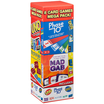 Mattel Mega Card Games 8pk