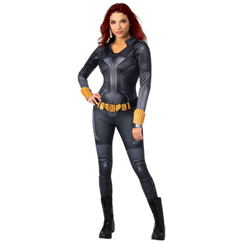 Rubies Women's Marvel Comics Black Widow Deluxe Costume