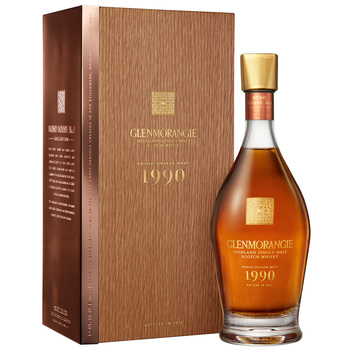 Glenmorangie 25 Year Old Grand Vintage 1990 Single Malt Scotch Whisky 700ml