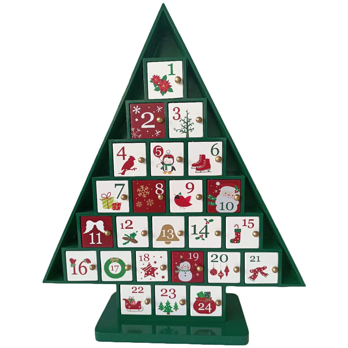 Wooden Christmas Tree Advent Calendar Costco Australia