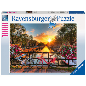 Ravensburger Bicycles in Amsterdam 1,000pc Jigsaw Puzzle