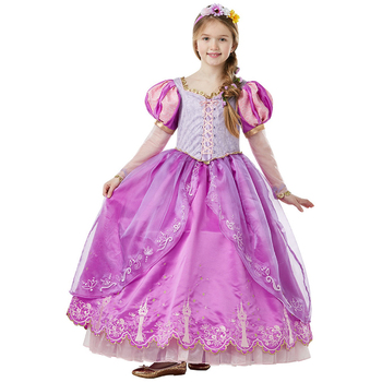 Rubies Girls' Disney Princess Rapunzel Costume Large