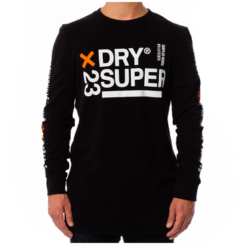 Superdry Men's long sleeve oversize Tee