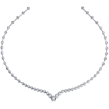 18KT White Gold 1.65ctw Diamond Necklace