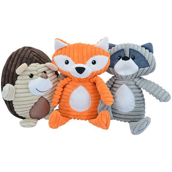 Think Dog Forest Friends Dog Toys 3pk