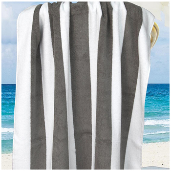 Ramesses Multi Stripe Beach Towel