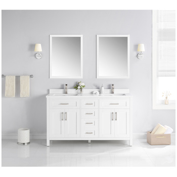 OVE Lakeview 1524mm White Vanity