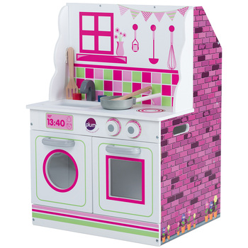 Plum Play 2-in-1 kitchen and Doll House Set