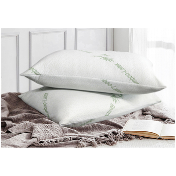 Ramesses Bamboo Latex Fill Pillows Twin Pack 40 x 60 cm