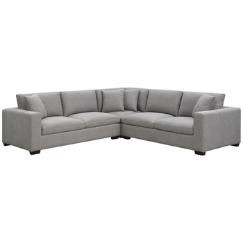 Forum Fabric Sectional 3pc