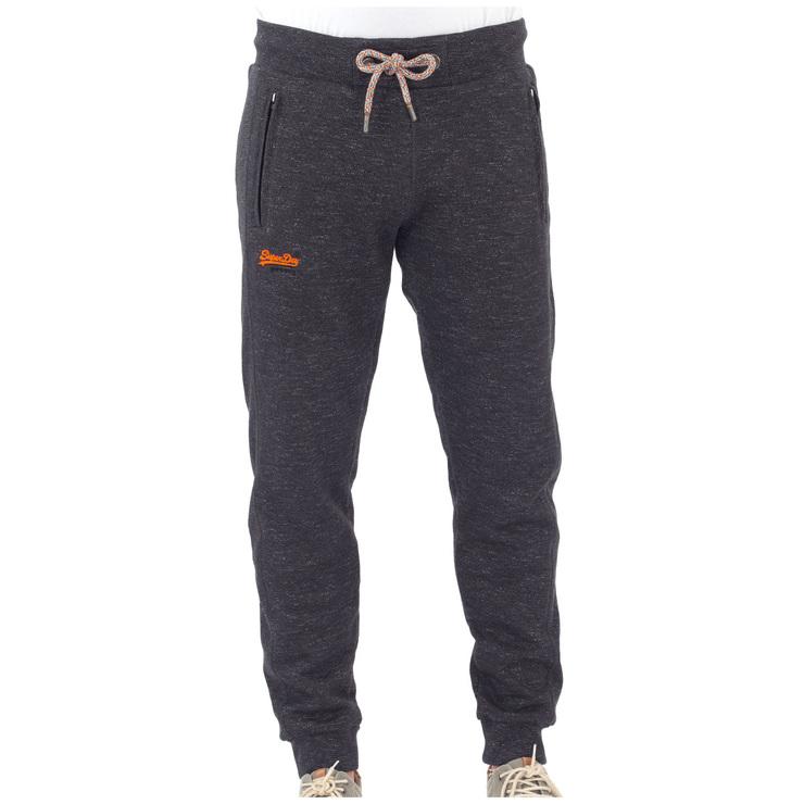 Superdry Men's Orange Label Cali Jogger Black