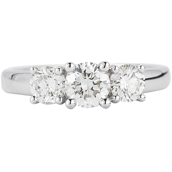 Platinum 2.00ctw Round Brilliant Cut Diamond Ring