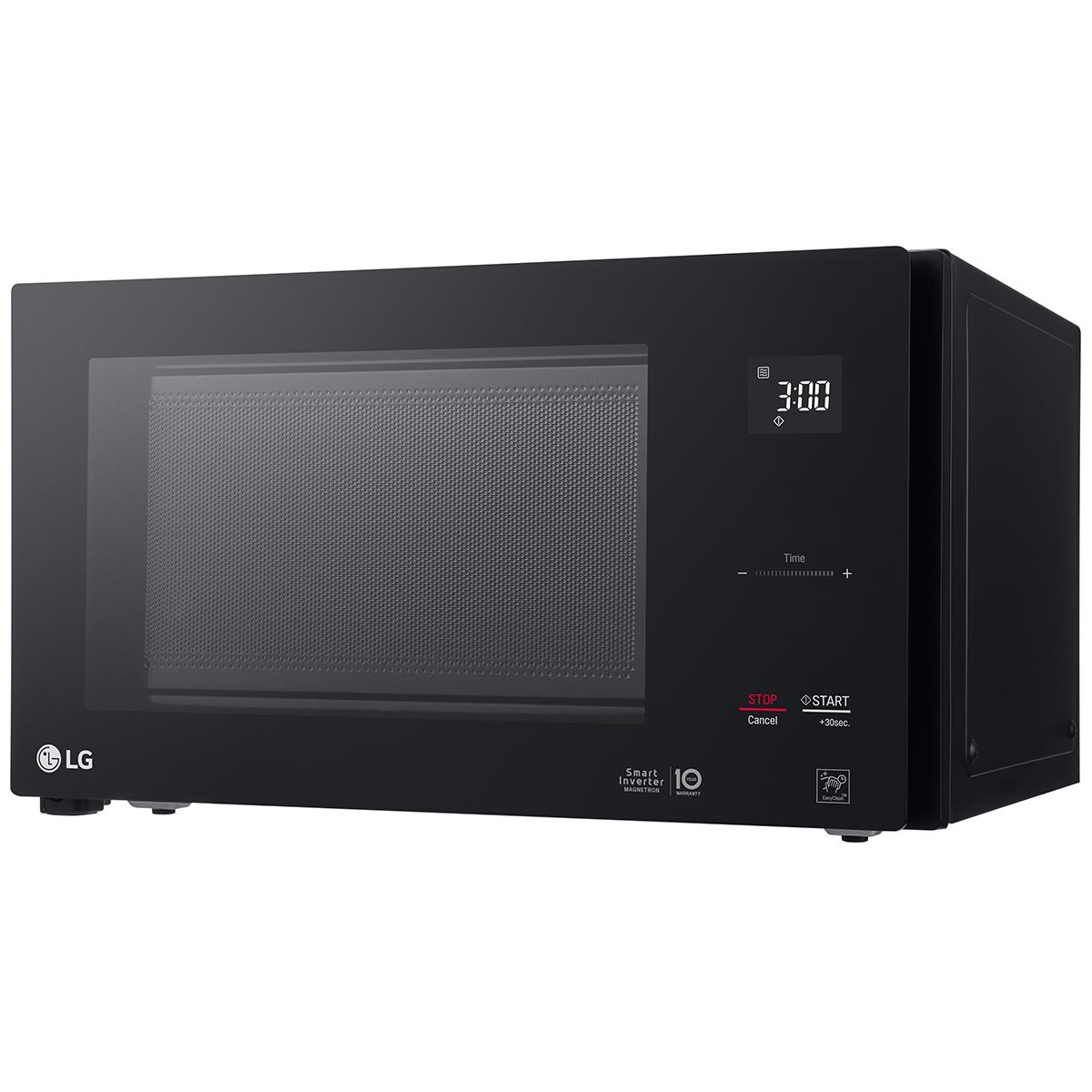 lg neochef 42l black microwave ms4296obc