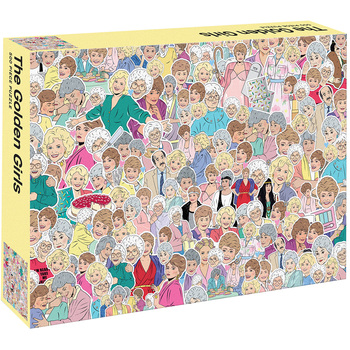 Smith Street Gift The Golden Girls Puzzle 500pc