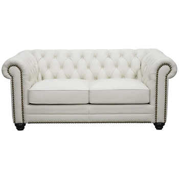 Moran Bastille II 2 Seater Leather Sofa