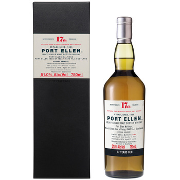 Port Ellen 37 Year Old Single Malt Scotch Whisky 750ml
