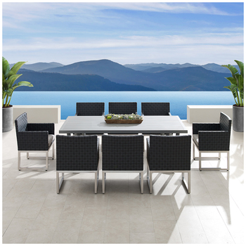Soho 9 Piece Outdoor Dining Set