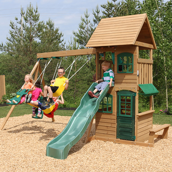 KidKraft Windale Climbing Frame and Outdoor Play Centre