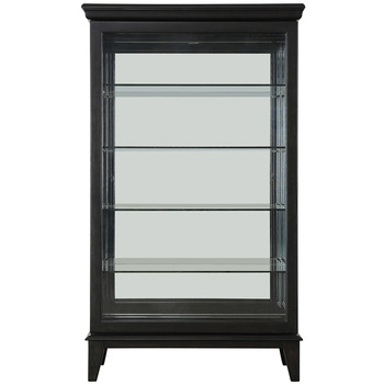 Pulaski 60 Inch Curio Display Cabinet with Sliding Doors