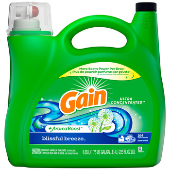 Gain Ultra Concentrated Blissful Breeze Laundry Liquid 6.65L