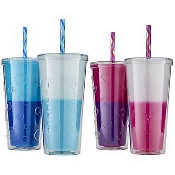 Parker Lane Colour Changing Tumblers 2pk
