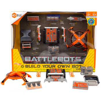 Hexbug BattleBots Build Your Own Orange Tank