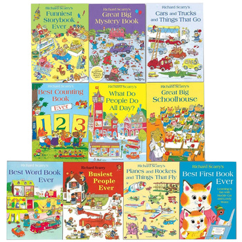 Richard Scarry Children's Books Collection