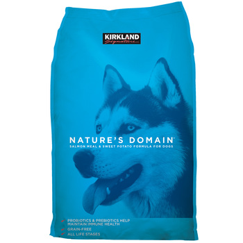 Kirkland Signature Nature's Domain Salmon Meal & Sweet Potato Formula Dog Food 15.87kg