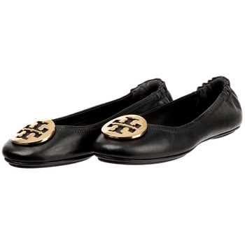 Tory Burch Minnie Travel Logo Ballerina Flats