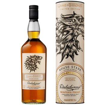 Game of Thrones<br>House Stark - Dalwhinnie Winter's Frost Scotch Whisky 700mL