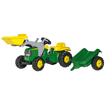 John Deere Rolly Kids' Tractor with Front Loader