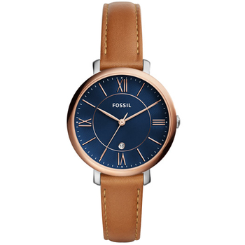 Fossil Jacqueline Brown Analogue Women's Watch ES4274