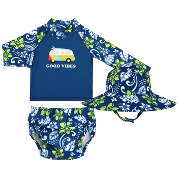 Peanut Shell Children's Swimwear 3pc Set