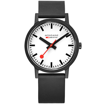 Mondaine Men's Stainless Steel Quartz Watch MS1.41110.RB