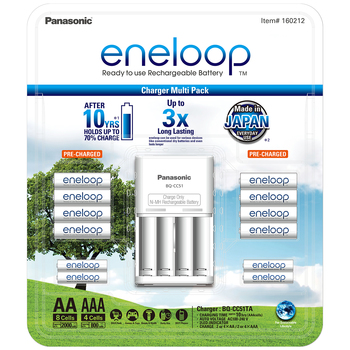 Panasonic Eneloop Rechargeable Battery Pack