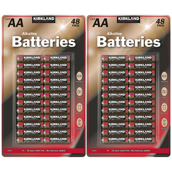 Kirkland Signature AA Batteries 48 x 2pk