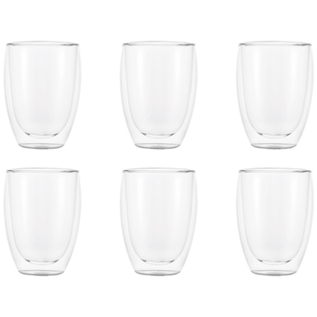 Bodum Pavina Double Wall Glasses 6 x 350ml