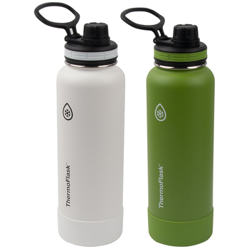 ThermoFlask Insulated Stainless Bottle 1.2L 2pk