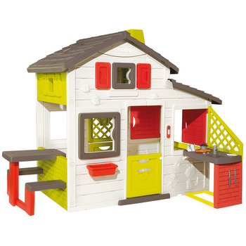 Smoby Friends House Playhouse and Kitchen Set