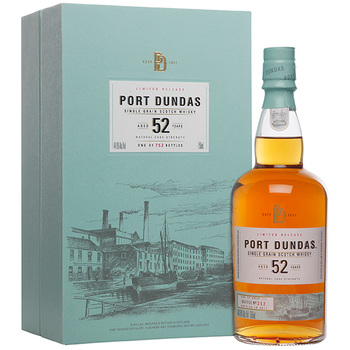 Port Dundas 52 Year Old Single Grain Scotch 700ml