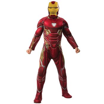 Rubies Men's Marvel Comics Iron-Man Deluxe Infinity War Costume