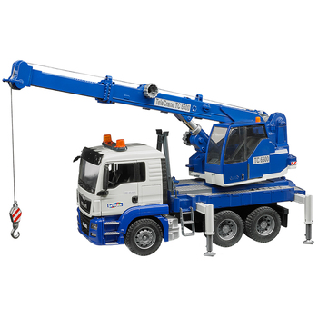 Bruder 1:16 MAN TGS Crane Truck with Light & Sound Module