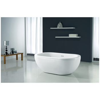 OVE Noah 1600mm Freestanding Bath