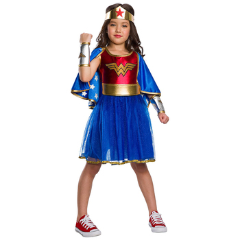 Rubies Girls' Wonder Woman Deluxe Costume